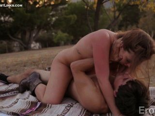 Maddy And Tyler Make Passionate Love While Having A Picnic....