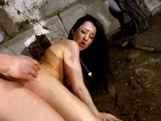 French widow gladly fucks the gravedigger for his hot cum 9