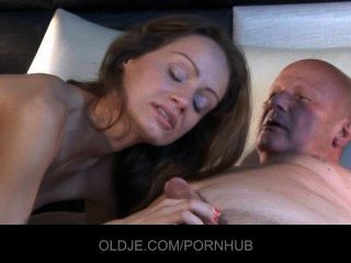 Young Slut Fucks Old Perv