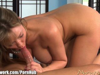 Nurunetwork Maya Hill Big Titty Blowjob