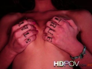 Hd Pov Beautiful Brunette With Tight Pussy Loves Riding Cock
