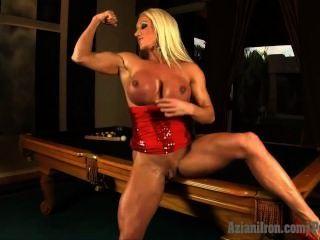 Aziani Iron Ashlee Chambers Fitness Pornstar