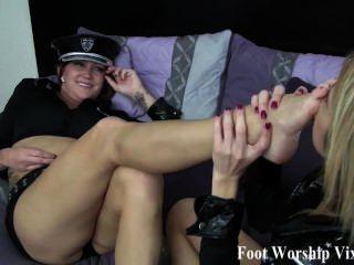 Officer Foot Love