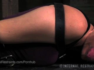 Blind Girl Struggles In Bondage, Gets Spanked
