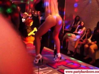 Hot Horny Babes At Party Slammed From Behind In High Def