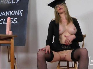 Holly Kiss Jerk Off Class For Bills Honeys
