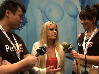 Pornhubtv Jessa Rhodes Interview At 2014 Avn Awards