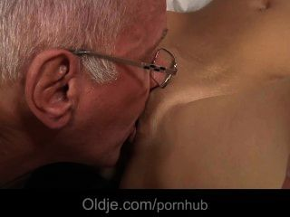 Oldman Seduced And Fucked By A Hussy Teeny