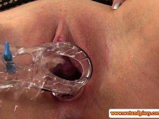 Urine Loving Eurobabe Handles Speculum