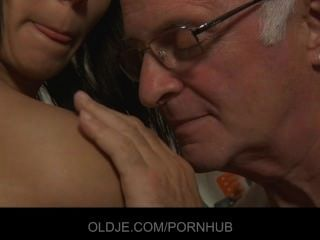 Nasty Teen Maid Wants Her Old Boss Cock In Mouth
