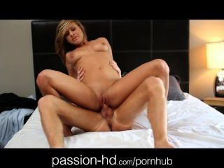 Passion-hd Exotic Teen Showers And Sucks Cock