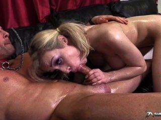 Horny Couple Oil Fuck At Shebang.tv