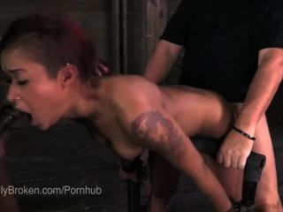 Cassandra Nix Bound & Blindfolded So She Must Suck Dick
