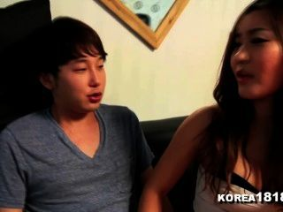 Korea1818.com - Lucky Virgin Fucks Hot Korean Babe!