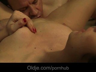 Young Girl Gets To Fuck An Old Stranger After A Party