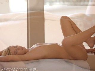 Nubile Films - Tight Teen Pussy Swallows Big Dick