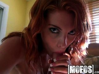 Mofos - Sexy Redhead Teases The Pool Boy