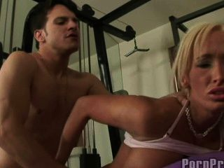 Lichelle Marie Fucked In Gym
