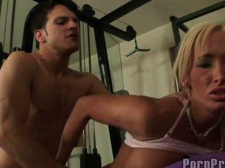 Lichelle Marie Fucked In Gym