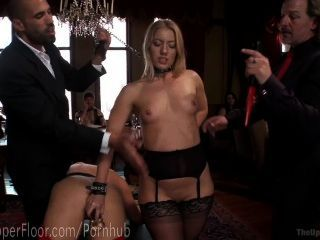 Afternoon Anal Slave Threesome