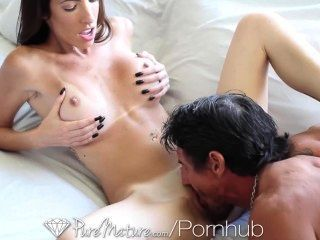Hd - Puremature Dava Foxx Gets A Big Cock For Breakfast