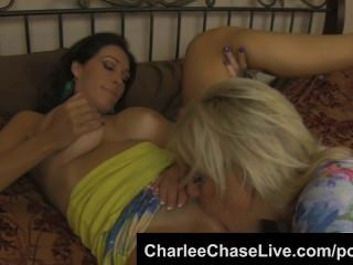 Charlee Chase Big Tit Taboo Pussy Licking With Slut Step Sister