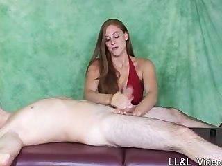 Bondage Mean Handjob