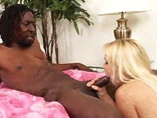 Blonde Whore Craves Black Cock