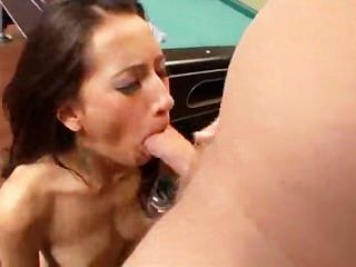 Amia Miley Pool Shark