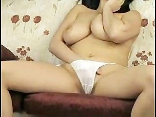 Big Breasted Girl With Nice White Panties