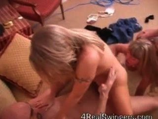 Wife Shares Husband With Horny Milfs