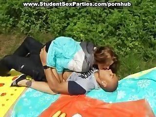 Hot Foursome Student Sex At Porn Party