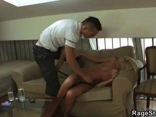 She Screams As He Fucks Her Hard And Deep