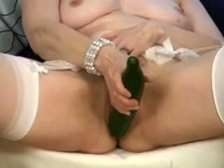 image Kylie wilde enjoys inserting bananas and cucumbers into her pussy