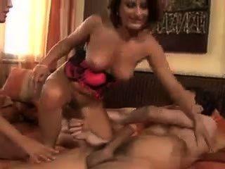 Threesome With Busty Jasmine Black