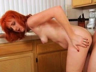 Hairy Firecrotch Milf Sucking Cock