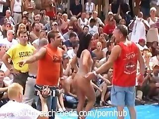 Naked Festival In Indiana Part 1
