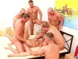 Cute Teen Brutally Gangbanged By 6 Guys