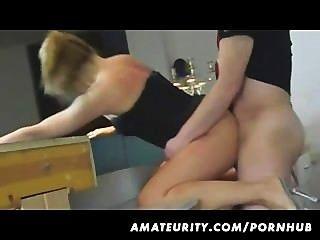 Amateur Ex Girlfriend Homemade Fuck With Creampie Cumshot