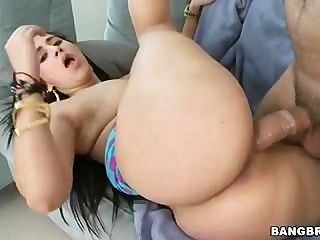 Juicy Latina Phat Ass Gets Fucked