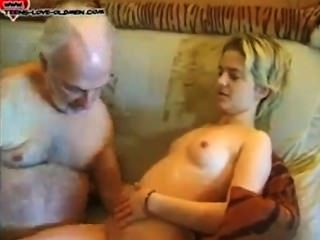 He finds his cheating gf with old man 6