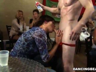 Horny Bridesmaids Deep Throat Cock