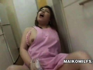 Sex Crazed Japanese Housewife Kana Miyagi