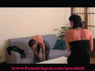 Femaleagent. Shy Hunk Gets Devoured
