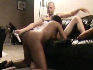 Kinky And Real Interracial Couple