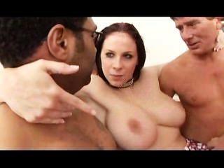 Gianna Michaels Vs 4 Cocks