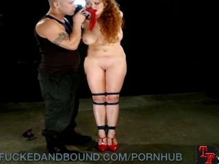 Whore In Heels Punished And Fucked