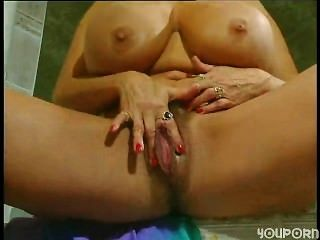 Blonde With Huge Clit