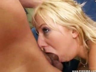 Thick Blonde Gets Used Hard By Group (gzh)