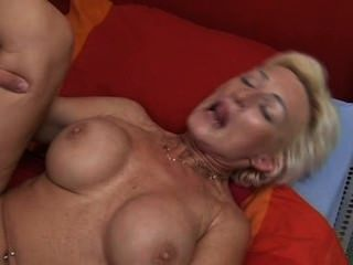 Mature Blonde Fucks The Guest Hq